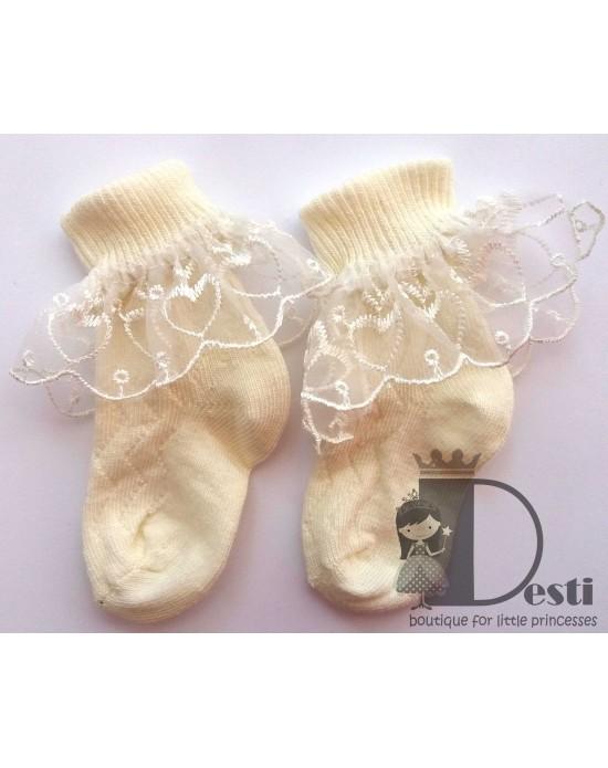 Чорапчета с дантелка